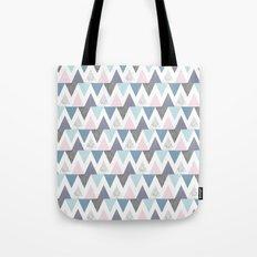 Tri Colour Two Tote Bag