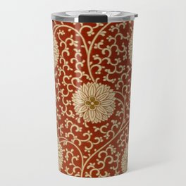 Red Chrysanthemums Travel Mug
