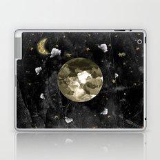 moon on black Laptop & iPad Skin