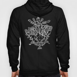 Garden Of Sin Witchcraft Goth Punk Illustration Hoody