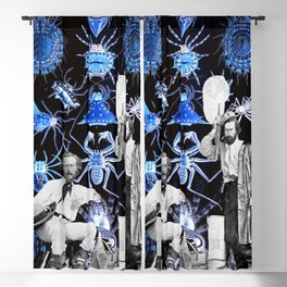 Haeckel's Cure for Arachnophobia Blackout Curtain
