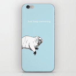 The majestic water bear iPhone Skin