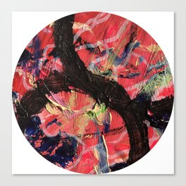 Hello Anger Abstract Canvas Print