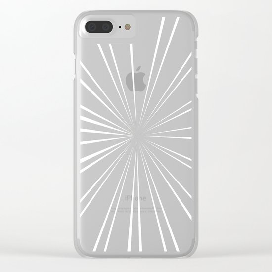 Star Burst Color Clear iPhone Case