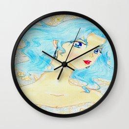 Shi Shi by the Sea Wall Clock