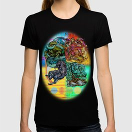 Mysticx & Magick: The Japanese Elemental Gods - Art Cover T-shirt