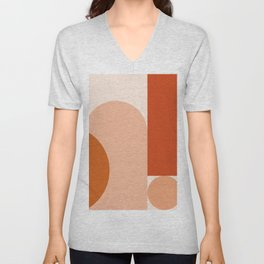 abstract minimal #8 Unisex V-Neck