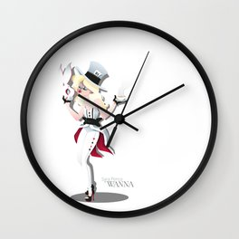 Alice by Sara Penco Wall Clock