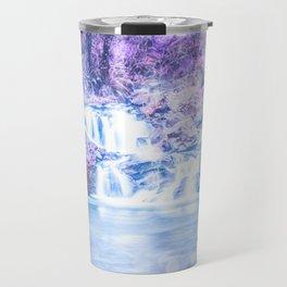 Mermaid Waterfall Travel Mug
