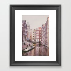 Amsterdam love II Framed Art Print