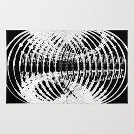 Downtown Circle Print Rug
