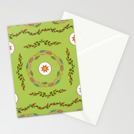Flower Pattern6 Stationery Cards