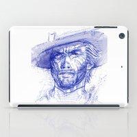 clint barton iPad Cases featuring Clint by MOK designz
