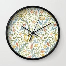 William Morris Flora Wall Clock
