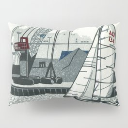 Poole Quay Pillow Sham