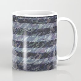 Rustic American Flag Coffee Mug