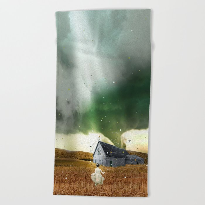DOROTHY'S HOUSE Beach Towel