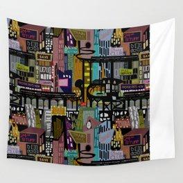 Mid-Century City Wall Tapestry