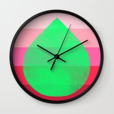 flourish 4 Wall Clock