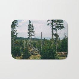 Evergreen Mountain Forest Bath Mat