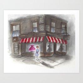 Window Shopper Art Print
