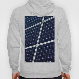 Image Of A Photovoltaic Solar Battery. Free Clean Energy For Everyone Hoody