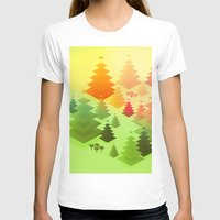forrest T-shirts featuring Forrest sunrise by Knightley