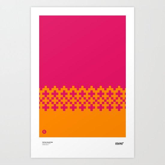 Jacquard 01 Art Print