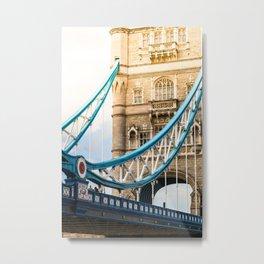 Rendezvous At Tower Bridge Metal Print
