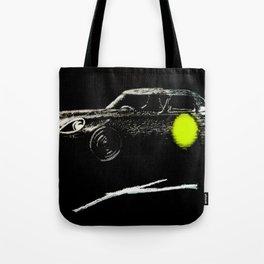 Jaguar sl yellow Tote Bag