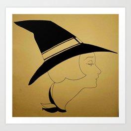 Witch #1 Art Print