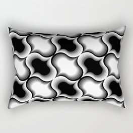 Waved Rectangular Pillow