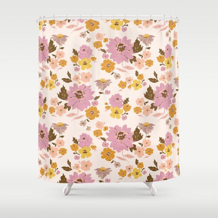 prairie floral Shower Curtain