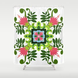 Typical Tropicals Shower Curtain