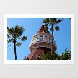 Hotel Del Coronado Art Print