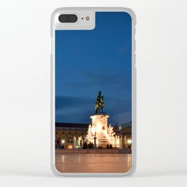 Lisbon Night Clear iPhone Case