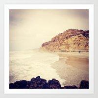 san diego Art Prints featuring San Diego by Lobos