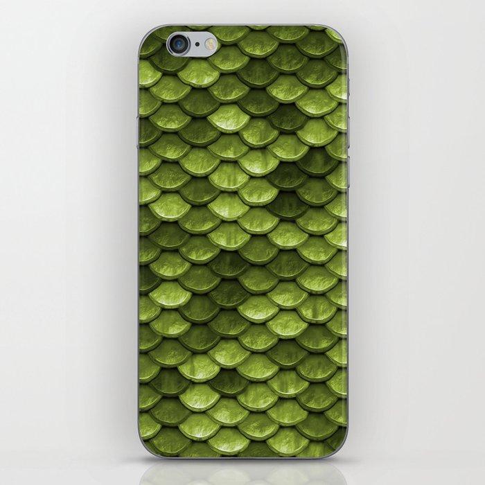 Mermaid Scales | Green with Envy iPhone Skin
