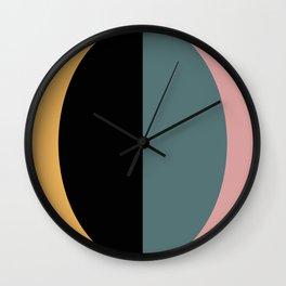 Mod Circle Abstract V Wall Clock