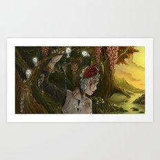 mononoke Art Print