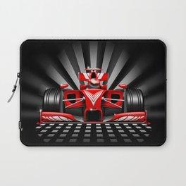 Formula 1 Red Race Car Laptop Sleeve