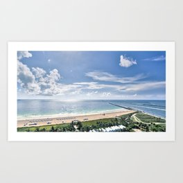 South Beach Art Print
