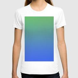 RESTING STATE - Minimal Plain Soft Mood Color Blend Prints T-shirt