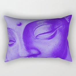 Siddharta Gautama violet Rectangular Pillow