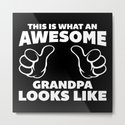 Awesome Grandpa Looks Like Quote by envyart