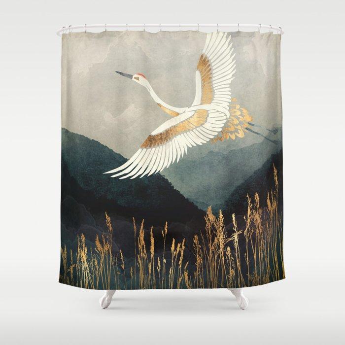 Elegant Flight Duschvorhang