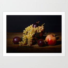 Fruit Bowl Arrangement Art Print