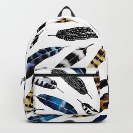 Bohemian Free Feather Backpack