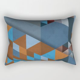 Geometrical Beginnings Rectangular Pillow