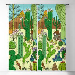Arizona Desert Museum Blackout Curtain